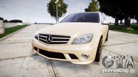 Mercedes-Benz C63 AMG 2010 для GTA 4