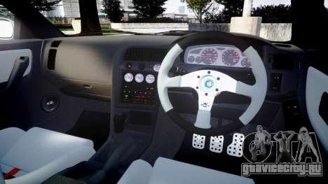 Nissan Skyline GT R33 1996 Sharpie для GTA 4 вид сбоку