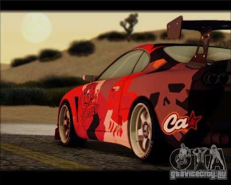 Toyota Supra Fail Crew для GTA San Andreas вид слева
