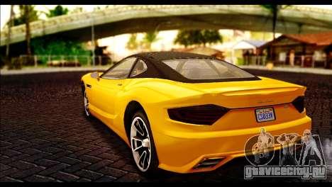 GTA 5 Hijak Khamelion для GTA San Andreas вид слева