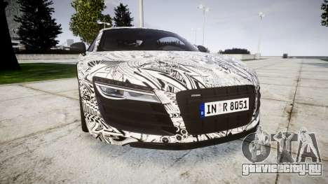 Audi R8 plus 2013 Wald rims Sharpie для GTA 4