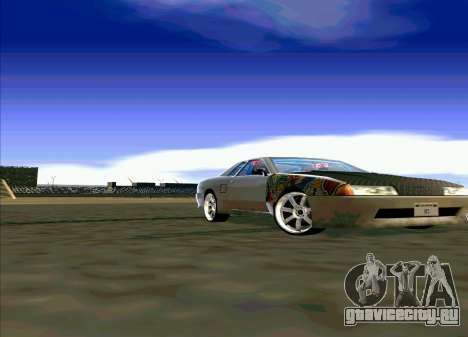 Elegy Restyle для GTA San Andreas вид сзади слева