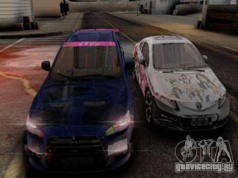ENB Hans Realistic 1.0 для GTA San Andreas четвёртый скриншот