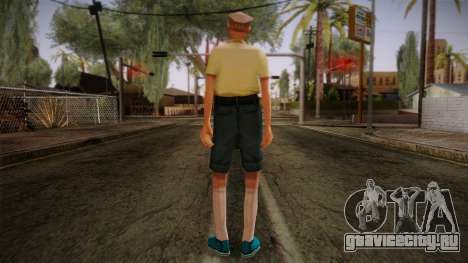 GTA San Andreas Beta Skin 17 для GTA San Andreas второй скриншот
