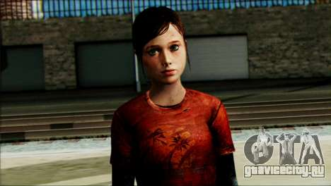 Ellie from The Last Of Us v1 для GTA San Andreas третий скриншот