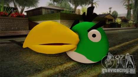 Green Bird from Angry Birds для GTA San Andreas