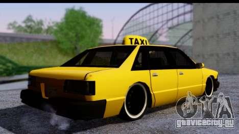 Slammed Taxi для GTA San Andreas