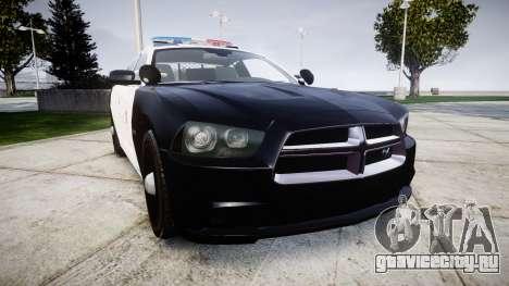 Dodge Charger 2013 LAPD [ELS] для GTA 4