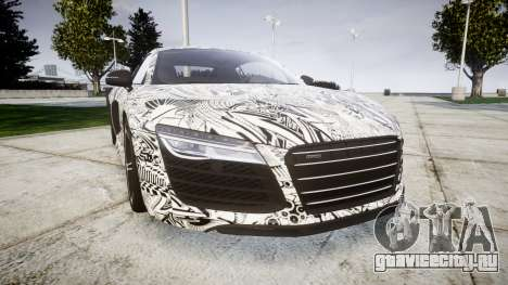 Audi R8 plus 2013 HRE rims Sharpie для GTA 4