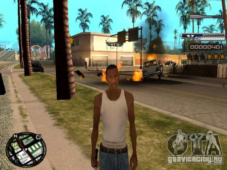 CLEO HUD Spiceman для GTA San Andreas