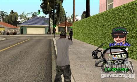C-HUD by Travis Escobaro and Matthew Escobaro для GTA San Andreas второй скриншот