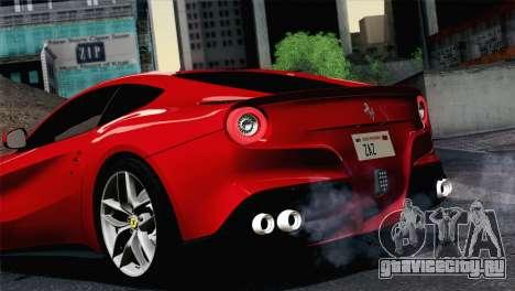 Ferrari F12 Berlinetta 2013 для GTA San Andreas вид справа