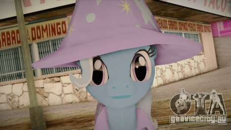 Trixie from My Little Pony для GTA San Andreas третий скриншот