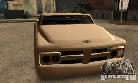 Beta Slamvan для GTA San Andreas вид слева
