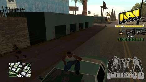 C-HUD NaVi для GTA San Andreas четвёртый скриншот