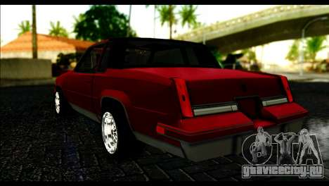 Oldsmobile Cutlass 1987 Beta для GTA San Andreas вид слева