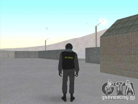 Солдат ВВ МВД РФ для GTA San Andreas второй скриншот