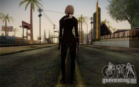 Karin Chakwas from Mass Effect для GTA San Andreas второй скриншот