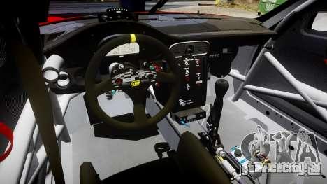 Porsche 911 Super GT 2013 для GTA 4 вид изнутри
