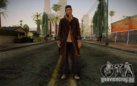 Aiden Pearce from Watch Dogs v12 для GTA San Andreas