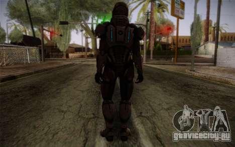 Shepard Default N7 from Mass Effect 3 для GTA San Andreas второй скриншот