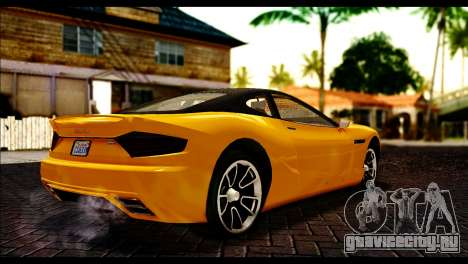 GTA 5 Hijak Khamelion для GTA San Andreas вид сзади слева