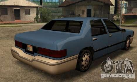 Beta Elegant Final для GTA San Andreas вид справа