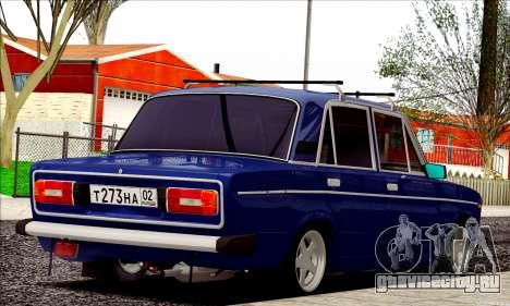 ВАЗ 2106 Russian style для GTA San Andreas вид справа