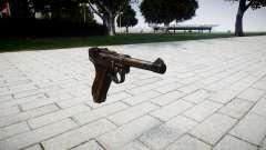Пистолет Luger P08 для GTA 4