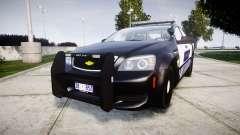 Chevrolet Caprice 2012 Sheriff [ELS] v1.1 для GTA 4