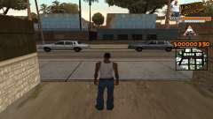 C-HUD LSW для GTA San Andreas