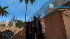C-HUD Blue для GTA San Andreas