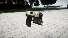 Пистолет HK USP 45 woodland
