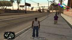 C-HUD Classic для GTA San Andreas