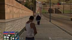C-HUD by SampHack v.4 для GTA San Andreas