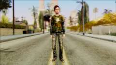 Ellie from The Last Of Us v2 для GTA San Andreas
