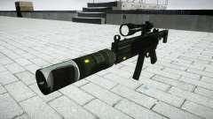Тактический пистолет-пулемёт MP5 target
