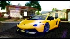Lamborghini Gallardo LP 570-4 для GTA San Andreas