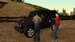 Дорожная автомастерская Сиджея для GTA San Andreas