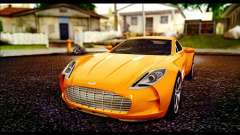 Aston Martin One-77 Black для GTA San Andreas