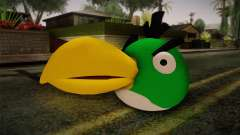 Green Bird from Angry Birds