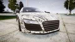 Audi R8 plus 2013 HRE rims Sharpie для GTA 4