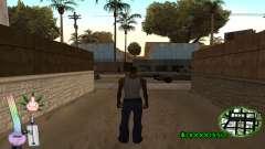 C-HUD Canabis для GTA San Andreas