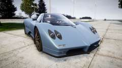 Pagani Zonda C12 S 7.3 2002 PJ1 для GTA 4
