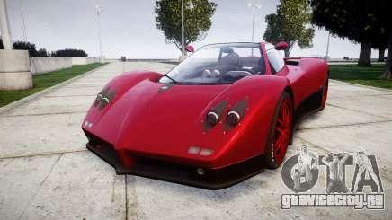 Pagani Zonda C12 S 7.3 2002 PJ2 для GTA 4