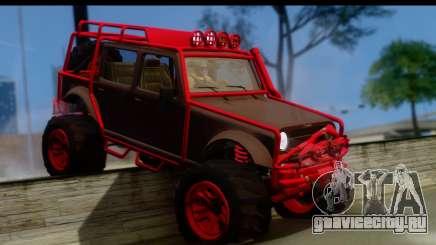 GTA 5 Mesa MerryWeather для GTA San Andreas