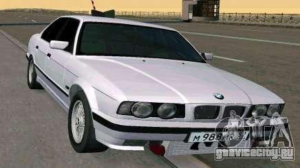 BMW 525 Turbo седан для GTA San Andreas