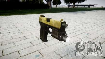 Пистолет HK USP 45 olive для GTA 4