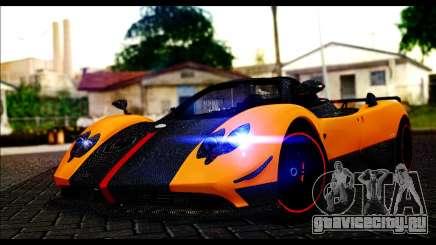 Pagani Zonda Cinque Roadster родстер для GTA San Andreas