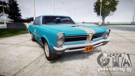 Pontiac GTO 1965 victory cars для GTA 4